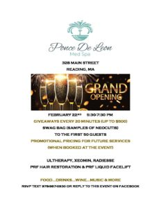 Ponce De Leon Grand Opening 2/22